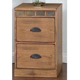 Sunny Designs Sedona 2-Drawer File Cabinet