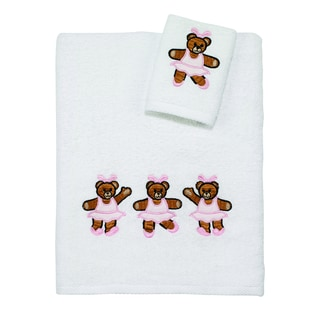 Kids Ballerina Bears 2-piece Towel Set