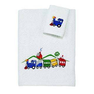 Kids Off Track Train 2-piece Towel Set