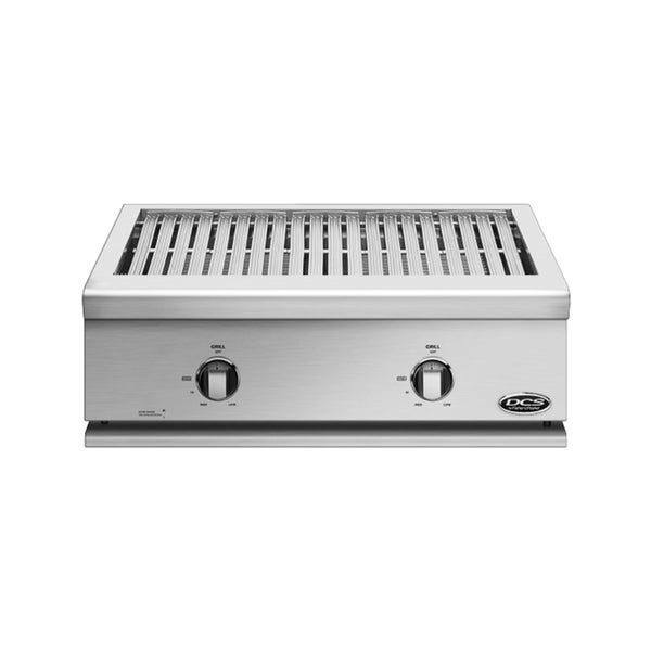 DCS Liberty Built-in Stainless Steel Grill with Access Doors and Side Burner