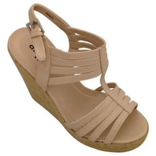 Women's Espadrille Strappy Wedge Sandal