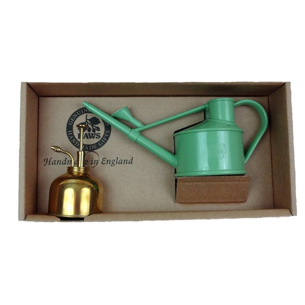 English Garden Haws Watering Can and Mister Gift Set