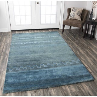 Rizzy Home Mojave Collection Hand-tufted Wool Rug (3' 6 x 5' 6)