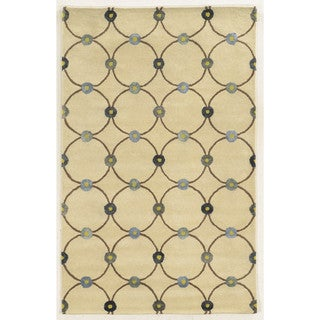 Rizzy Home Hand-tufted Wool and Viscose Gillespie Avenue Accent Rug (9' x 12')