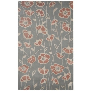 Rizzy Home Hand-tufted Gillespie Avenue New Zealand Wool Accent Area Rug (9' x 12')