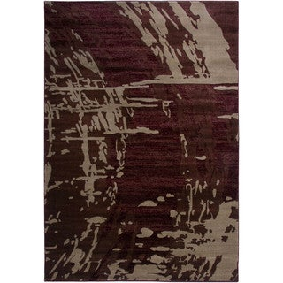 Rizzy Home Galleria Power-Loomed Machine-Made Polypropylene Contemporary Accent Rug (4' x 5' 7')