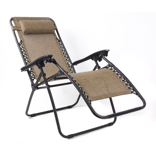 Pacific Brown Zero Gravity Chair
