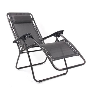 Pacific Black Zero Gravity Chair