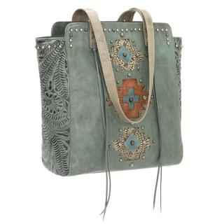 American West Soul Leather Tote Bag