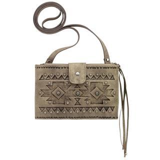 American West Chippewa Crossbody Wallet Bag