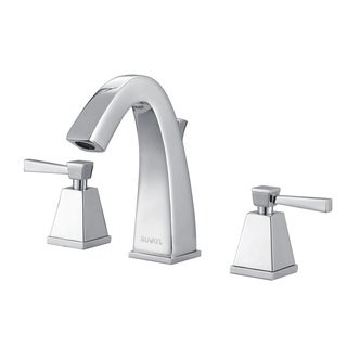 Ruvati RVF5120BN Giza 8-15-inch Brushed Nickel Widespread Two Handle Contemporary Bathroom Faucet