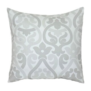 Taylor Marie Grey Floral Decorative Pillow Cover