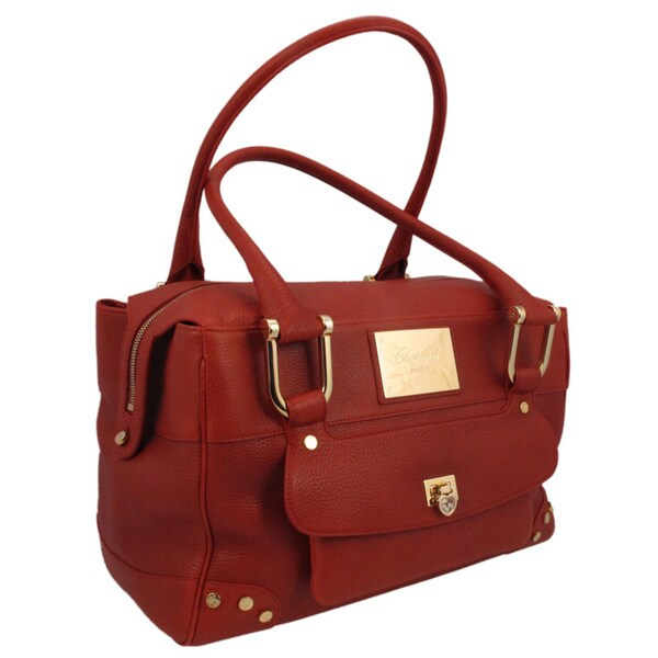 Chopard Caroline Red Calfskin Leather Bag