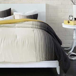 Comfy Colorblock 3-piece Comforter Set