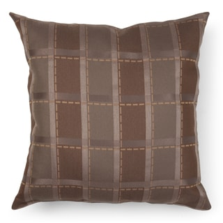 Journee Home 'Galway Plaid' 20 inch Accent Pillow