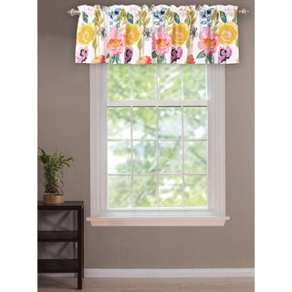 Greenland Home Fashions Watercolor Dream Window Valance