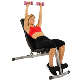 Sunny Health & Fitness SF-BH6506 Flat/Incline/Decline Bench