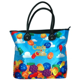 Candy Crush Blue Sky Tote Bag