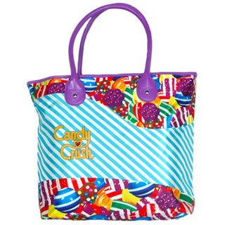 Candy Crush Pink and Blue Tote Bag