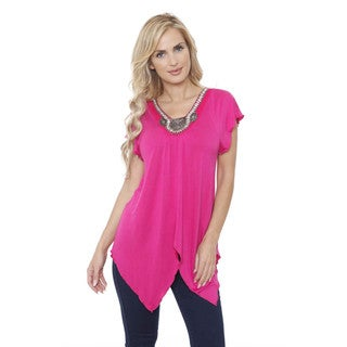 Women's 'Fenella' Short Sleeve Tunic Top