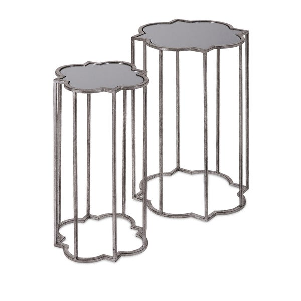 Acworth Silver Leaf Tables (Set of 2)