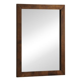 Zuo L.A. Walnut Framed Mirror