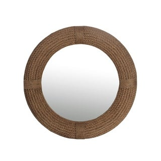 Privilege Beveled Round Rope Mirror