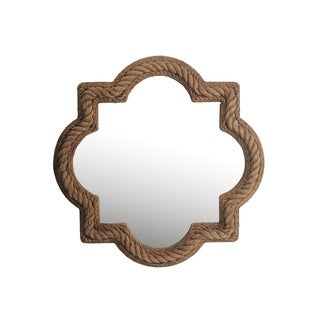 Privilege Beveled Glass Rope Mirror
