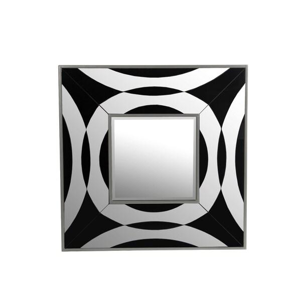 Privilege Beveled Glass Square Mirror