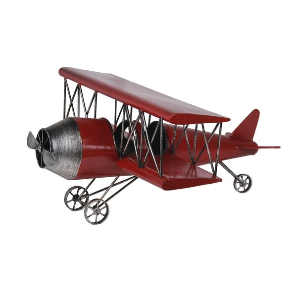 Privilege Red Antique Airplane