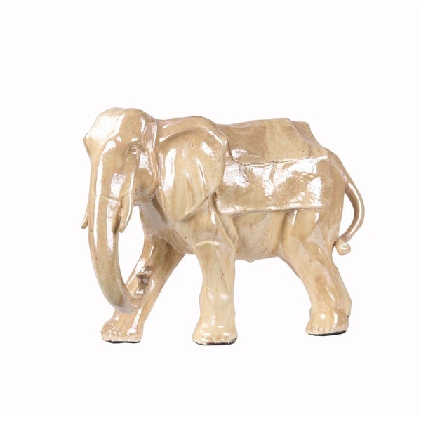 Privilege Cream Large Ceramic Elephant