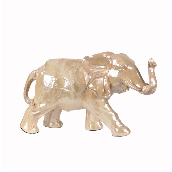 Privilege Cream Small Ceramic Elephant