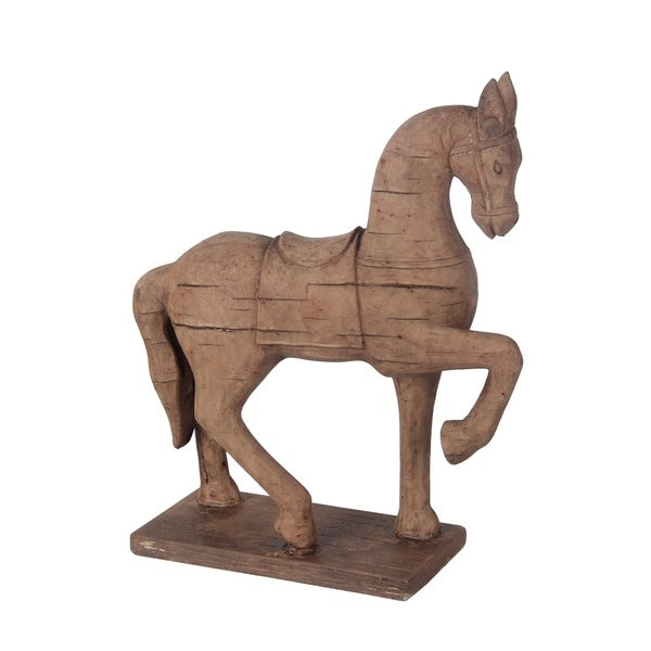 Privilege Brown Ceramic Horse on Base