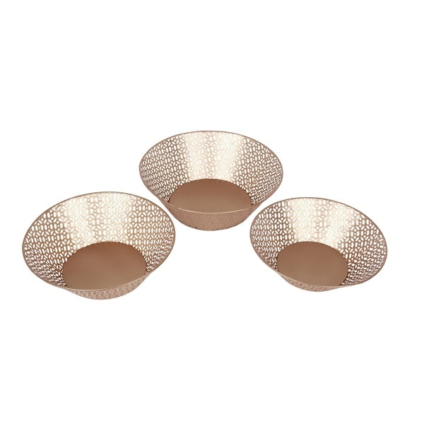 Privilege Copper Bowls (Set of 3)