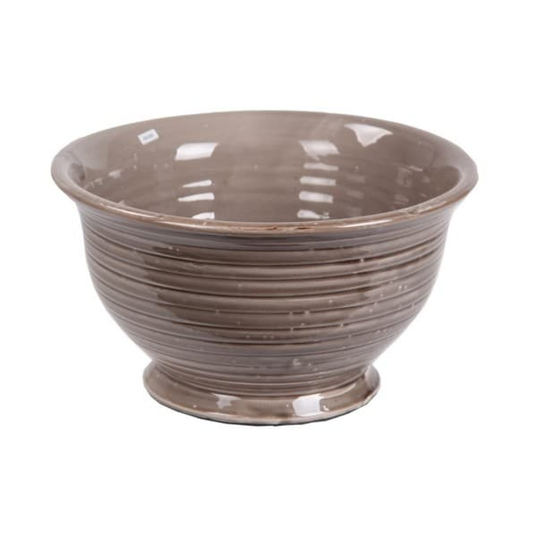 Privilege Taupe Large Ceramic Bowl