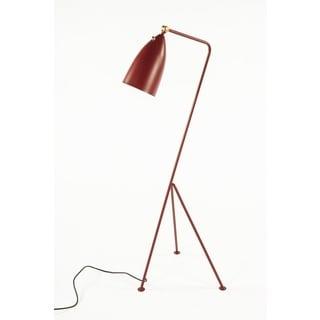 Hans Andersen Home Grasshopper Red Floor Lamp