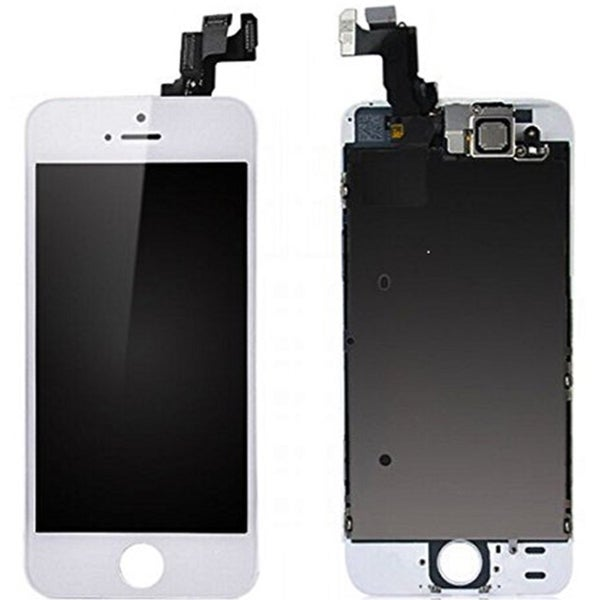 White Replacement LCD Digitizer and Screen with Tool Kit for Apple iPhone 5S