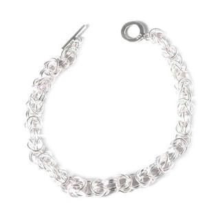 Handcrafted Silver 'Sweet Union' Bracelet (Peru)