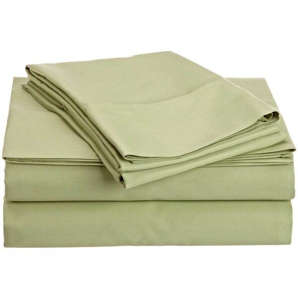 400 Thread Count 100-percent Egyptian Cotton Solid Sheet Set 400 TC