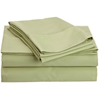 400 Thread Count 100-percent Egyptian Cotton Solid Sheet Set 400 TC
