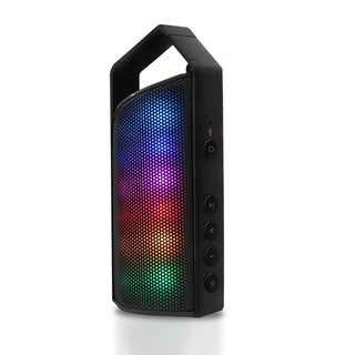 Latte SoundMagic Express Bluetooth Wireless Speaker with 8 LED Light Modes