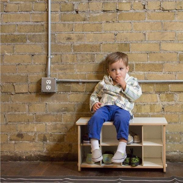 Kids Cubby Shoe Bench 15481650