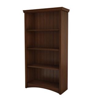 South Shore Sumptuous Cherry Gascony 4-shelf Bookcase