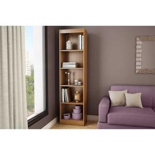 South Shore Morgan Cherry Axess 5-shelf Narrow Bookcase