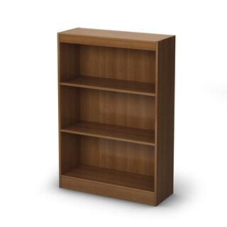 South Shore Morgan Cherry Axess 3-shelf Bookcase