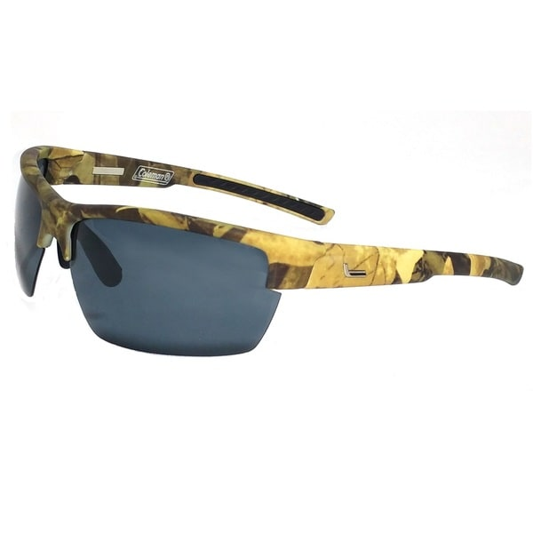 Raptor Green Camouflage Half Frame with Smoke Lens Sunglasses