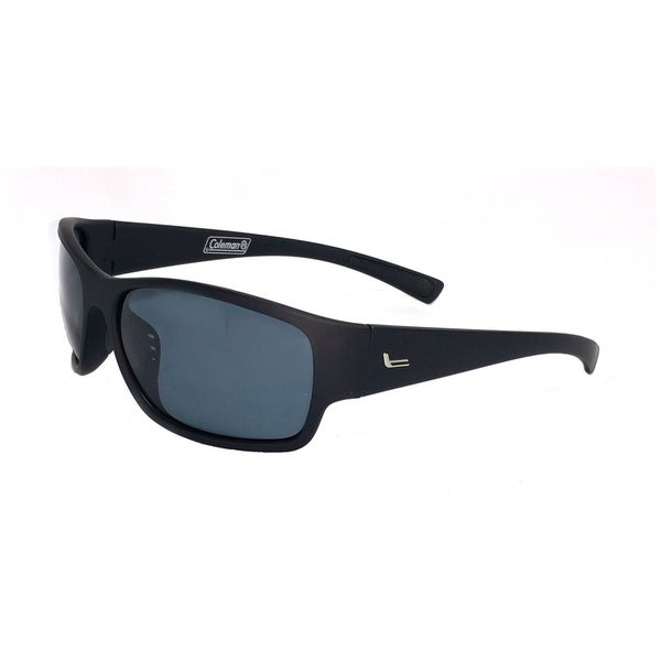 Backpacker-Matte Black Full Frame with Smoke Lens Sunglasses