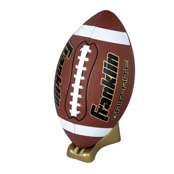 Franklin Grip-Rite Pump and Tee Football Set Junior