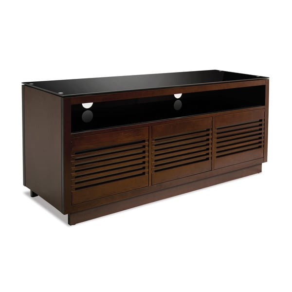 Bell'O Wood 63-inch Chocolate A/V Cabinet