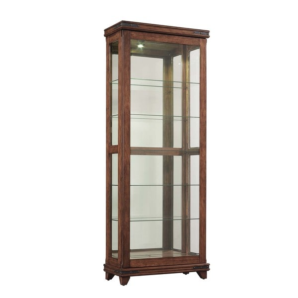 Mayfield Cherry Curio Cabinet